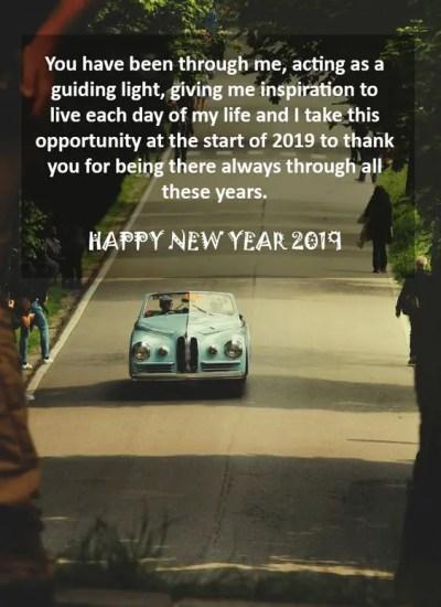 2019 New Year Greetings