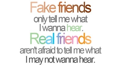 Best Quotation On Fake Friends