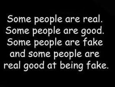Quotation On Fake People And Friends