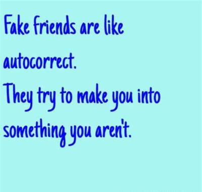 Quotes on True Colors Of Fake Friends