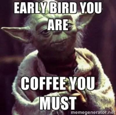 Hilarious Happy Birthday Coffee Memes