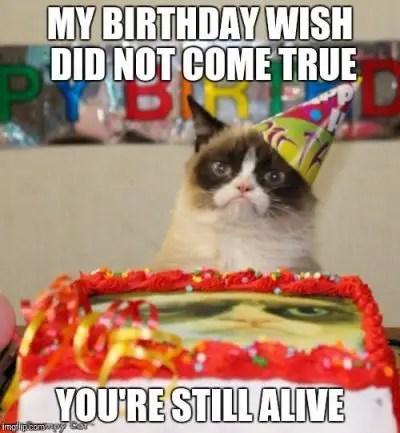 Humorous Happy Birthday Coffee Memes