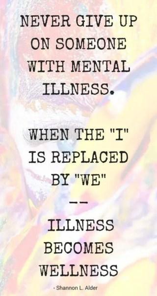 Mental Wellness Sayings