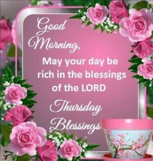 Good Morning Thursday Blessings Images And Quotes