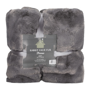 xl sofa throws living room decor with green blankets the range rabbit faux fur throw grey