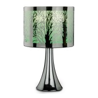 Silver Tree Scene Touch Lamp