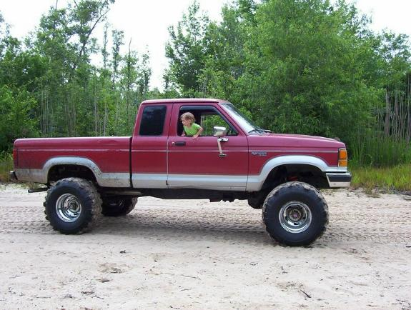 Lift Lift Ford Body 4x4 1990 Inch 2 F 250 4 Suspension Inch