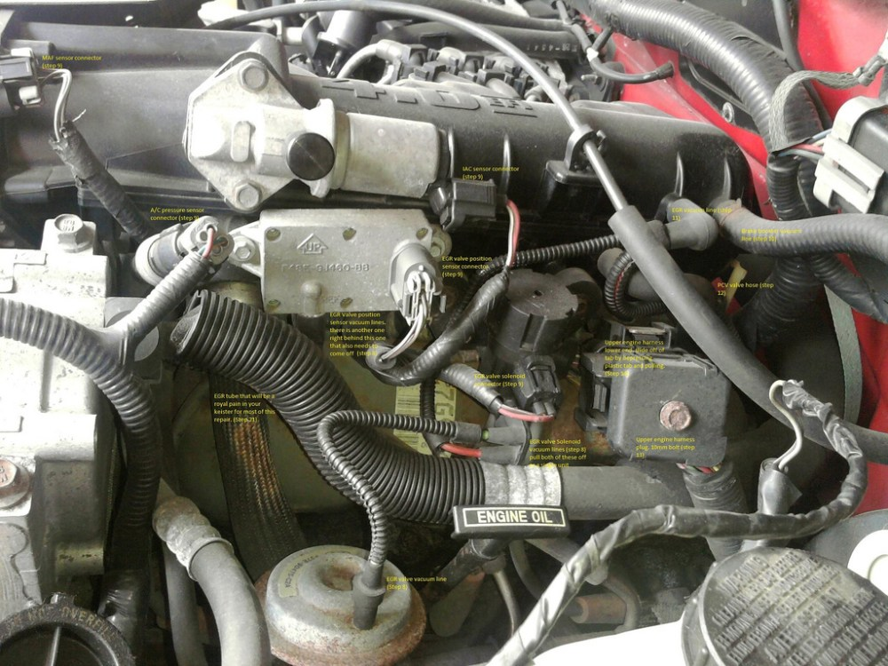 medium resolution of remove upper intake please refer to pictures below