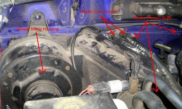 2000 hyundai elantra engine diagram of the human tongue and taste buds heater blend door repair on 1993-1997 ford ranger
