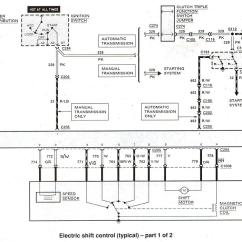 99 F150 Wiring Diagram American Political Spectrum Ford Ranger Diagrams The Station Electronic Shift Control 1 Of 2