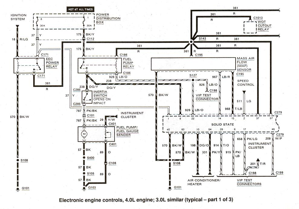 1996 Ford Ranger 23 Engine Diagram