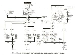 Ford Ranger & Bronco II Electrical Diagrams at The Ranger Station