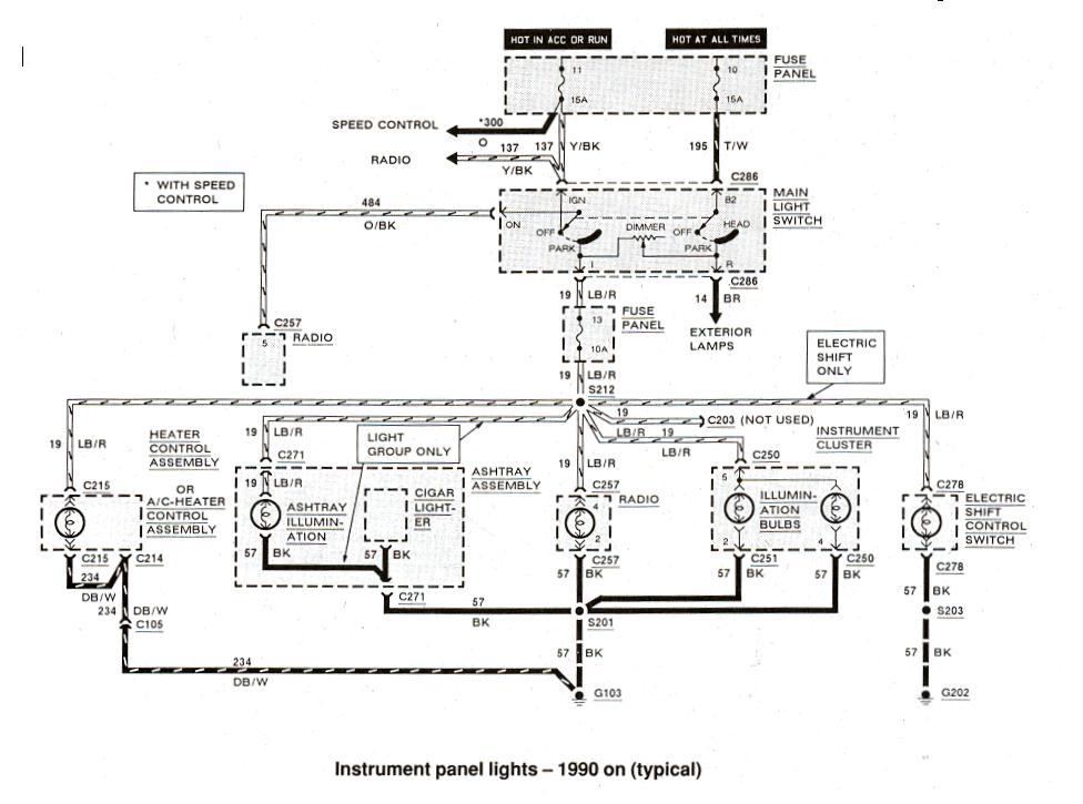 2000 Ford Ranger Alternator Wiring Diagram