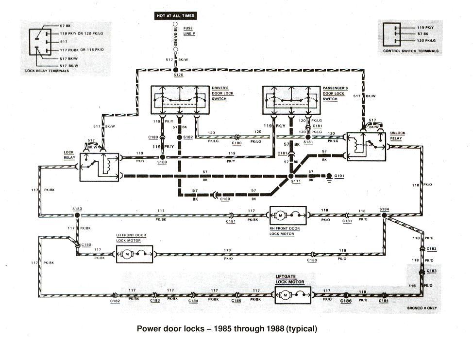 Wiring Diagram 1985 Ford Ranger 28 L