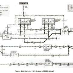 2007 Ford Focus Car Stereo Wiring Diagram Tekonsha Prodigy P2 Brake Controller Ranger Diagrams The Station Power Door Locks 1985 Through 1988