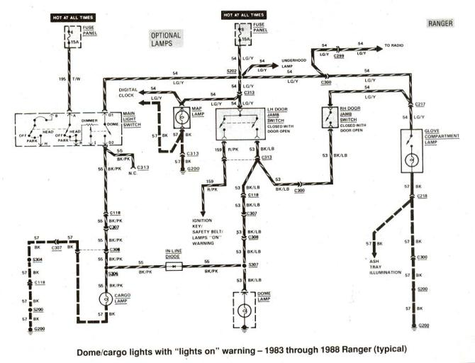 1985 ford ranger wiring diagram  63 falcon fuse box for
