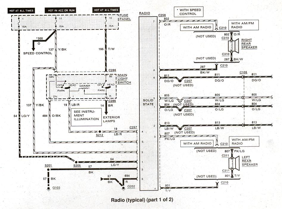 2008 F250 Trailer Wiring Diagram Ford Ranger Amp Bronco Ii Electrical Diagrams At The Ranger