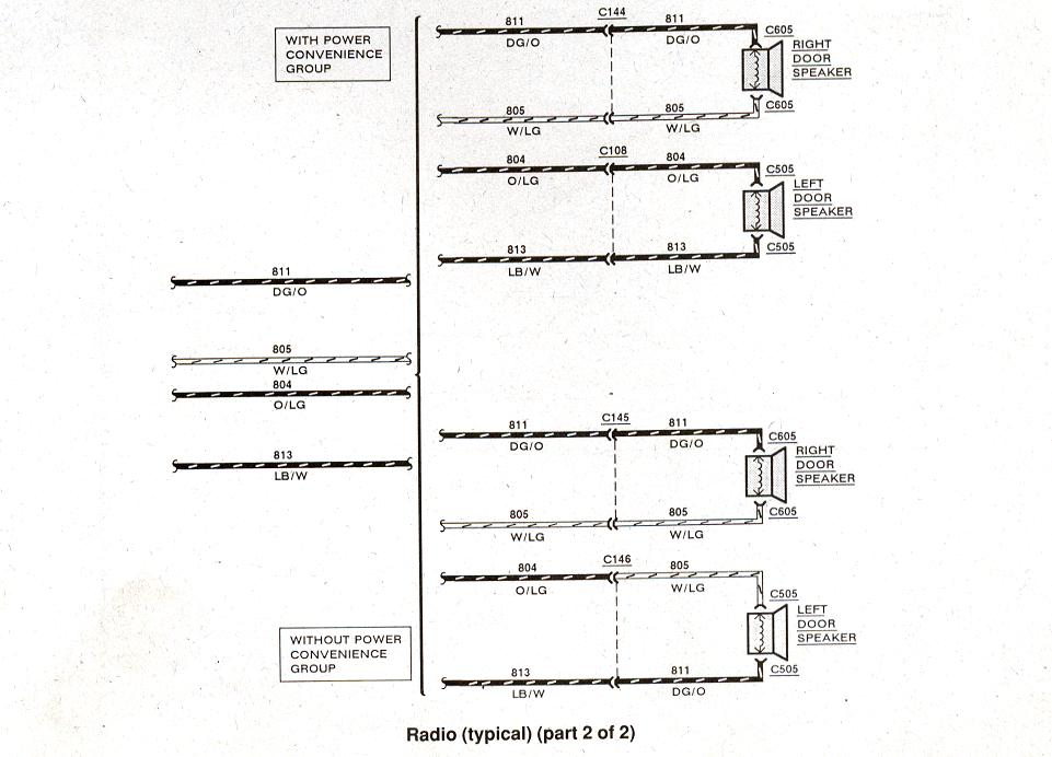 typical wiring diagram vw golf mk2 central locking ford ranger diagrams the station 1983 1990 radio 2 of