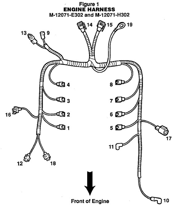 ford efi wiring harness diagram