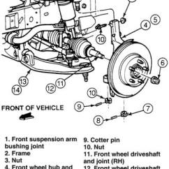 1995 Ford F150 Front Suspension Diagram Morris Minor 1000 Wiring Wheel Schematic The Ranger