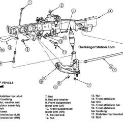 1996 Ford Ranger Front Suspension Diagram Pioneer Deh P2000 Wiring The 1998 2010 4wd