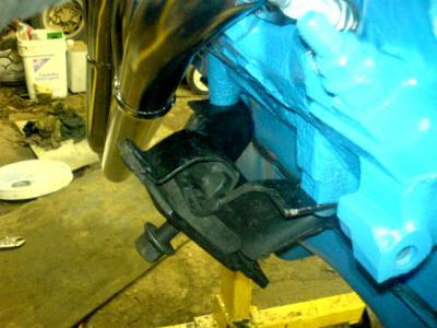 95 mustang gt alternator wiring diagram painless lt1 ford ranger v 8 engine swap the 1994 1995 uses same mount