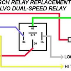 Radiator Fan Relay Wiring Diagram 2003 Volkswagen Jetta Engine Volvo Electric Cooling