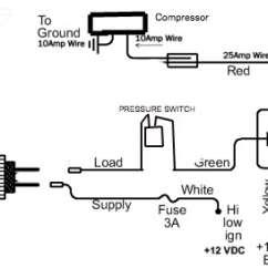 Air Suspension Wiring Diagram Ride Installation For Trailer Brake Controller York Onboard Compressor