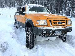 Mr Bossley's 2008 Ford Ranger Overlander