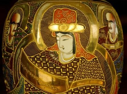 Vase chinois ancien restauré