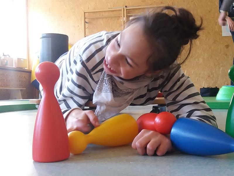 Ein Tag bei Schritt für Schritt, Verein zur Förderung behinderter Kinder. Tirol.