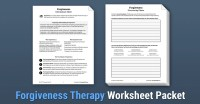 Forgiveness Therapy (Worksheet) | Therapist Aid