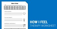 How I Feel (Worksheet) | Therapist Aid