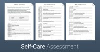 Self Care Worksheet
