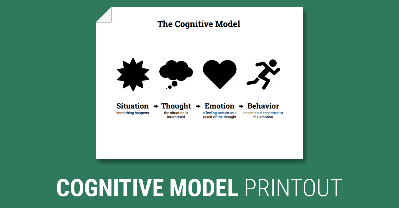 Simple Cbt Model Worksheet