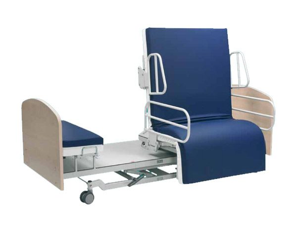 recliner bed chair blue bay banana rum cream review adjustable electrically operated chairs from theraposture bespoke beds rotoflex rotocare