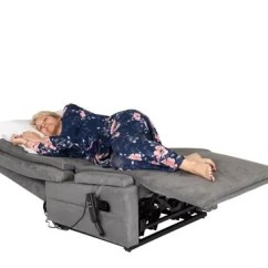 Recliner Bed Chair Kids Sports Adjustable Electrically Operated Chairs From Theraposture Woman Sleeping On
