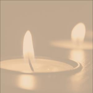 Meditation Class Candle