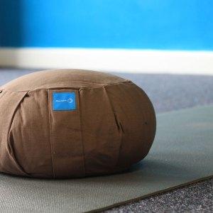 Meditation cushion in chocolate