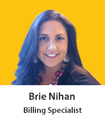 Meet Brie Nihan, Billing Specialist
