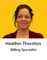 Meet Heather Thornton, Billing Specialist