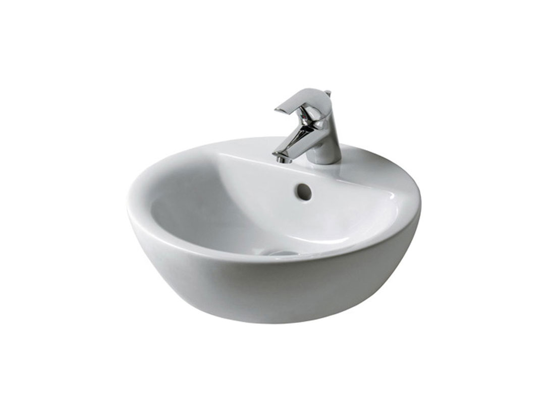 IDEAL STANDARD Connect Lavabo da appoggio tondo monoforo  Therapy 4 Home