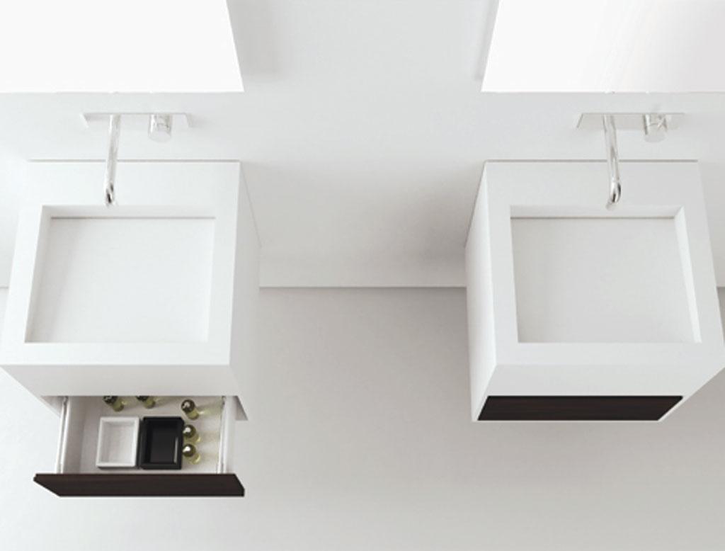 MOMA DESIGN Cubic Lavabo sospeso  Therapy 4 Home