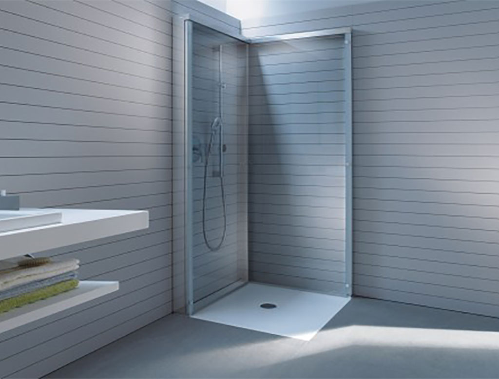 DURAVIT OpenSpace Cabina doccia rettangolare richiudibile  Therapy 4 Home
