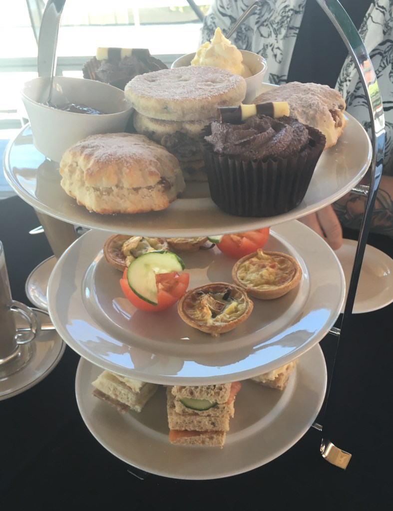 Afternoon tea at the Senedd, National Assembly for Wales – Cardiff Bay