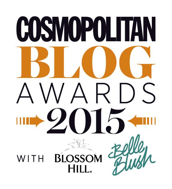 Cosmopolitan 2015 Blog Awards