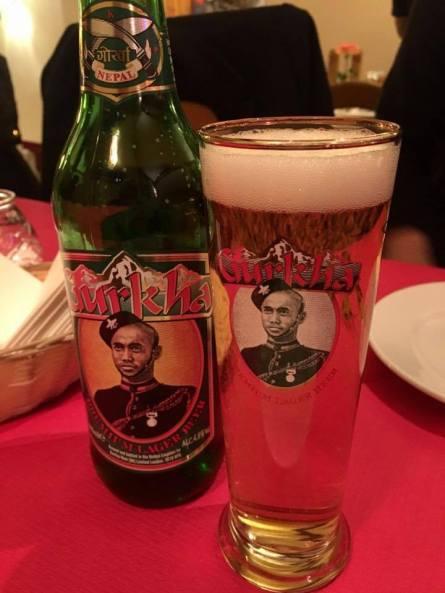 Gurkha lager beer