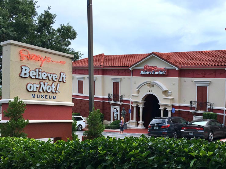 Ripley's Believe it Or Not, Orlando, Florida