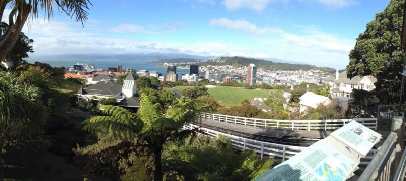 Wellington Cable Car View