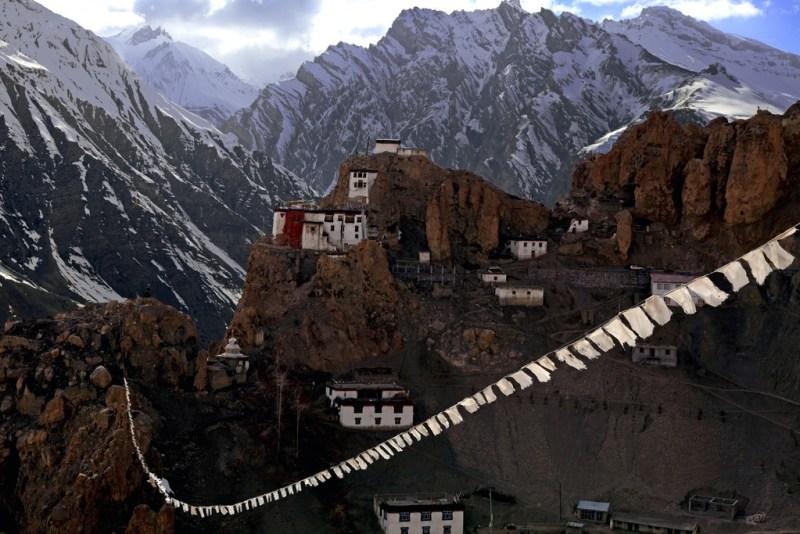 Dhankar Monastry, Himachal Pradesh - a top reason to visit India in 2018